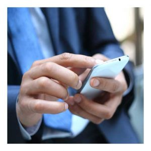 texting on cell phone